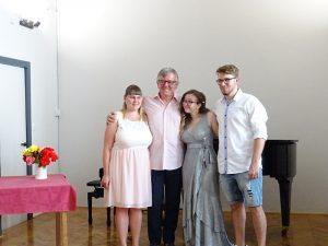 Slavko Ivančič in dijaki